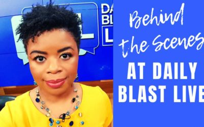 Behind the Scenes at Daily Blast Live //From the Microblog